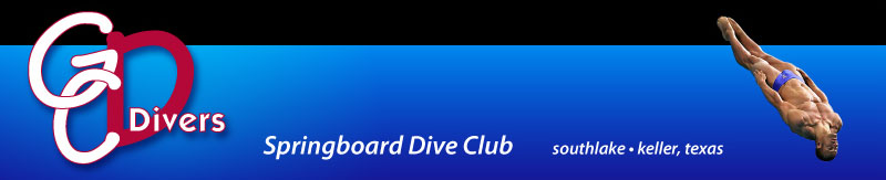 GC Divers Springboard Dive Club serving the greater Southlake - Keller area